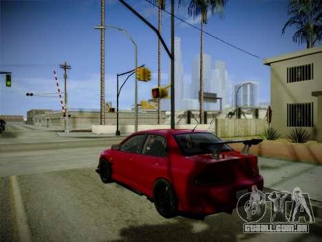 ENBSeries by Treavor para GTA San Andreas segunda tela