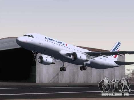 Airbus A320-211 Air France para GTA San Andreas