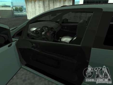 Fiat Punto EVO SPORT 2010 para GTA San Andreas traseira esquerda vista