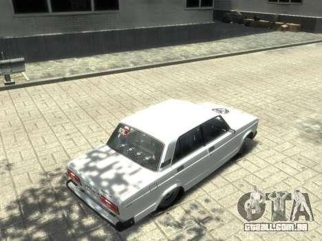 Vaz-2107 para GTA 4 esquerda vista