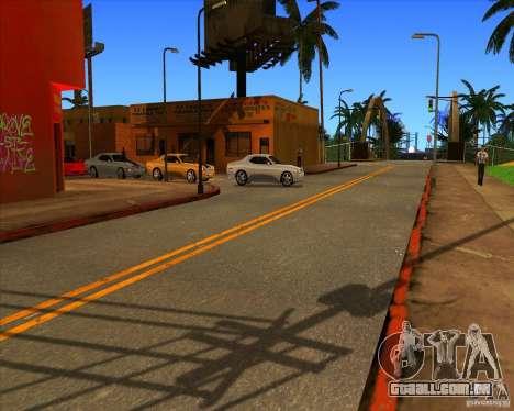 Belo cenário ENBSeries para GTA San Andreas sétima tela