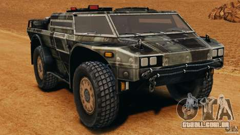 Armored Security Vehicle para GTA 4