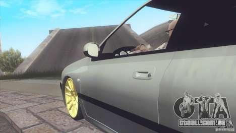 Peugeot 406 Rat Style para GTA San Andreas traseira esquerda vista