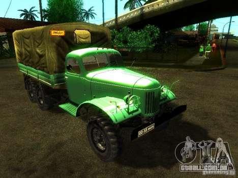 ZIL 157 Truman para GTA San Andreas