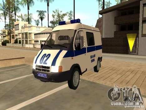 GAZ 2217 Sobol polícia para GTA San Andreas