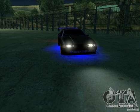 NEON mod para GTA San Andreas sétima tela
