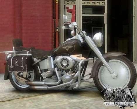 Harley Davidson FLSTF Fat Boy para GTA 4 esquerda vista