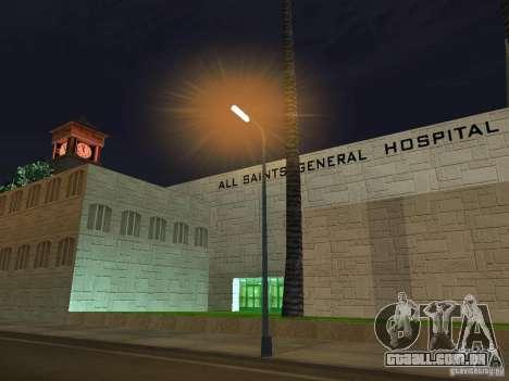 Novo Hospital-novo hospital para GTA San Andreas segunda tela
