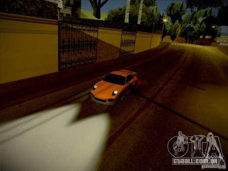 Porsche 997 GT2 para GTA San Andreas vista direita