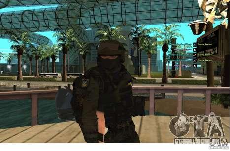 Forças especiais Berkrut para GTA San Andreas