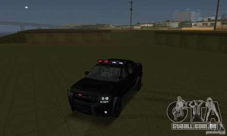 Luzes estroboscópicas para GTA San Andreas terceira tela
