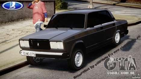 Vaz-2107 Avtosh estilo para GTA 4