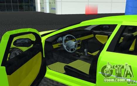 Volga Siber 2.5 AT Restailing para GTA San Andreas esquerda vista