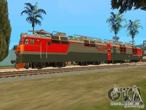 Vl80m-1785 ferrovias russas para GTA San Andreas esquerda vista
