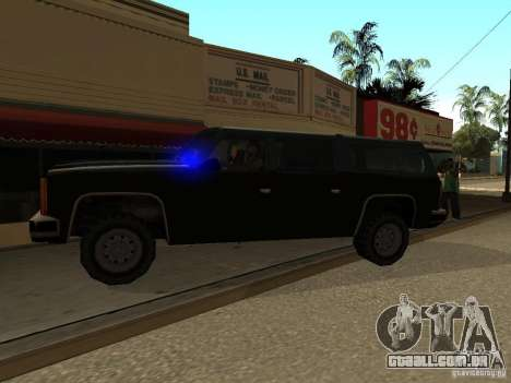 Polícia camuflada para GTA San Andreas segunda tela