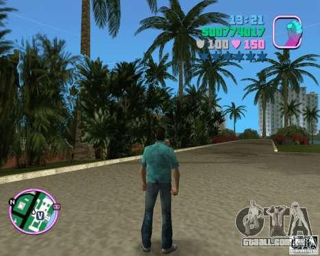 Tommy padrão em HD para GTA Vice City segunda tela