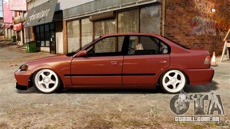Honda Civic iES para GTA 4 esquerda vista