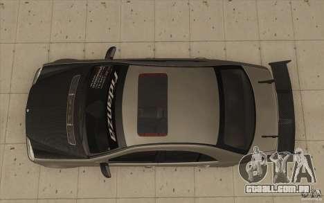 Mercedes-Benz C32 AMG Tuning para GTA San Andreas vista direita