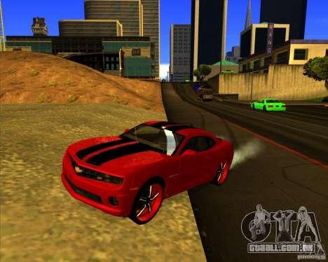 Chevrolet Camaro SS 2011 para GTA San Andreas
