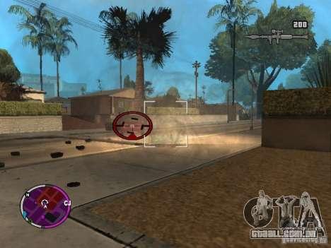TBOGT HUD para GTA San Andreas segunda tela