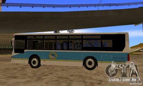 Daewoo Bus BC211MA Almaty para GTA San Andreas esquerda vista