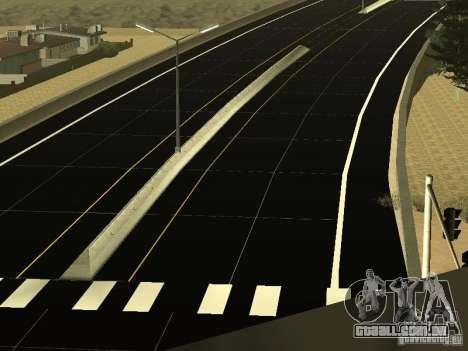 New Roads in San Andreas para GTA San Andreas terceira tela