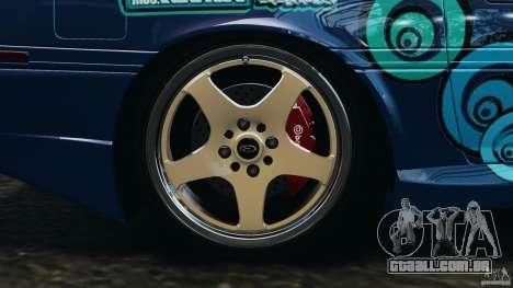 Toyota Supra 3.0 Turbo MK3 1992 v1.0 para GTA 4 vista inferior