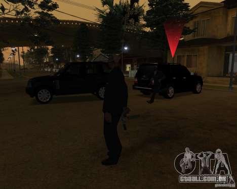 Proteção em um jipe para GTA San Andreas segunda tela