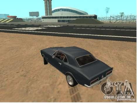 Chevrolet Camaro SS 396 Turbo-Jet para GTA San Andreas esquerda vista