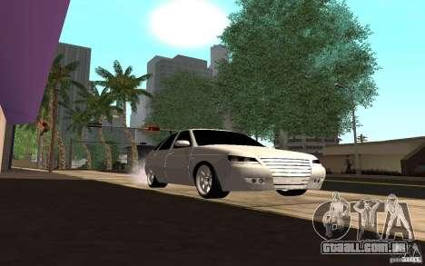 LADA PRIORA van tuning para GTA San Andreas vista traseira