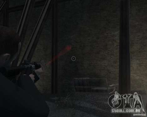 Flashlight for Weapons v 2.0 para GTA 4 sétima tela