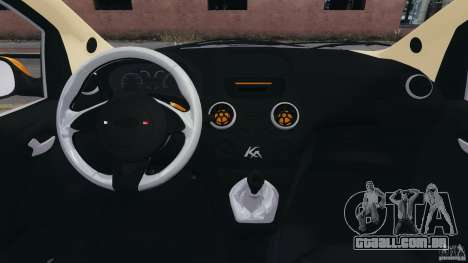 Ford Ka 2011 para GTA 4 vista de volta