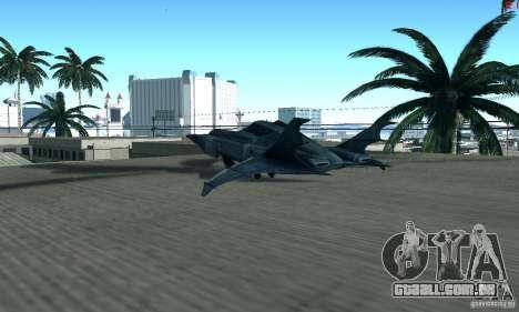 BatWing para GTA San Andreas vista direita