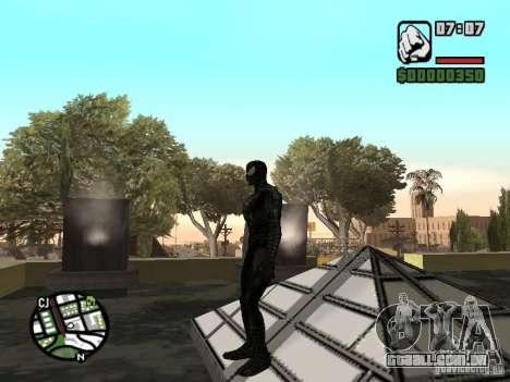 Inimigo do homem-aranha em reflexão para GTA San Andreas por diante tela