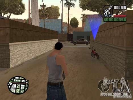Skin para CJ-Cool guy para GTA San Andreas quinto tela
