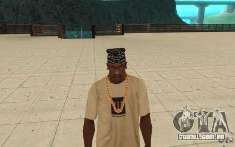 Bandana D12 para GTA San Andreas terceira tela