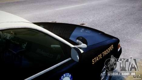 Ford Crown Victoria Fl Highway Patrol Units ELS para GTA 4 rodas