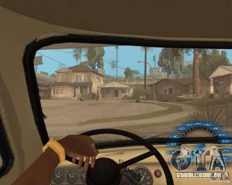 Atrás do volante para GTA San Andreas segunda tela