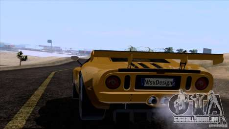 Ford GT Matech GT3 Series para as rodas de GTA San Andreas