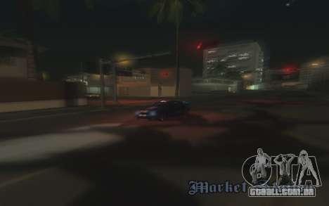 ENB v3.0 by Tinrion para GTA San Andreas por diante tela