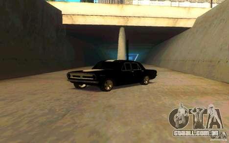 PLYMOUTH GAZ 2410 para GTA San Andreas traseira esquerda vista