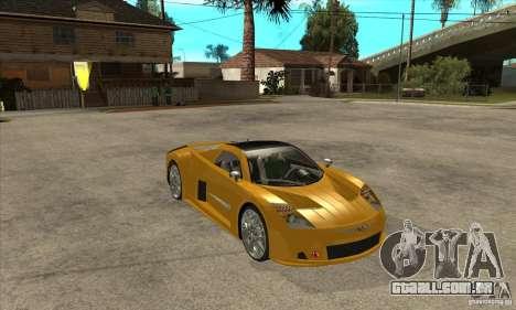 Chrysler ME Four-Twelve Concept para GTA San Andreas vista traseira