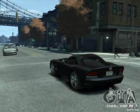 Dodge Viper srt-10 Coupe para GTA 4 esquerda vista