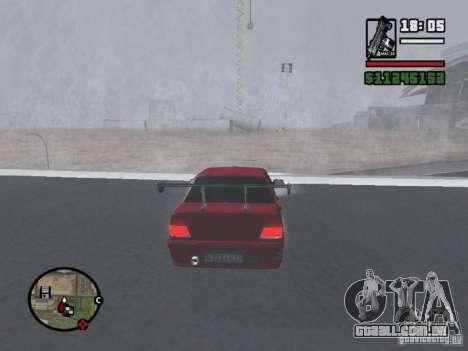 VAZ 2115 TUNING para GTA San Andreas vista direita