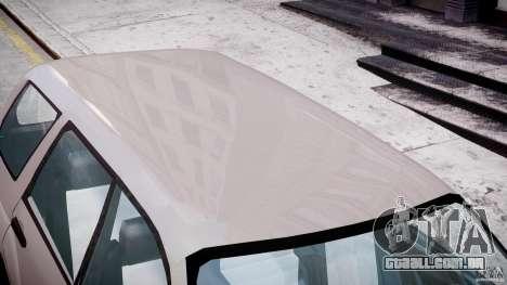 Subaru Forester v2.0 para GTA 4 vista inferior