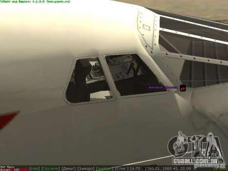 Concorde [FINAL VERSION] para GTA San Andreas esquerda vista