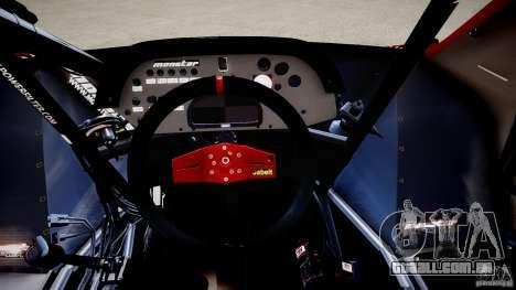 Suzuki Monster SX4 para GTA 4 vista interior