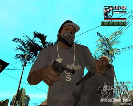 Pistola Luger para GTA San Andreas