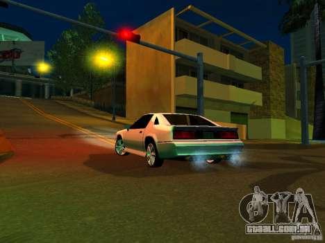 New Buffalo para GTA San Andreas esquerda vista