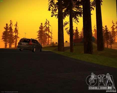 Restajl Vaz-2171 para GTA San Andreas vista direita
